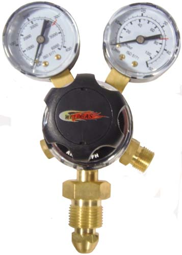 Multi Stage 2g Argon Regulator 10 Bar