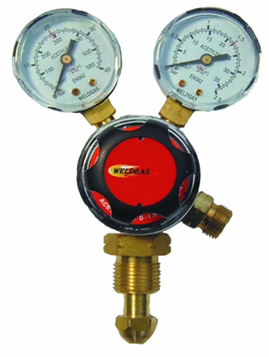 Multi Stage 2g Acetylene Regulator 1.5 Bar