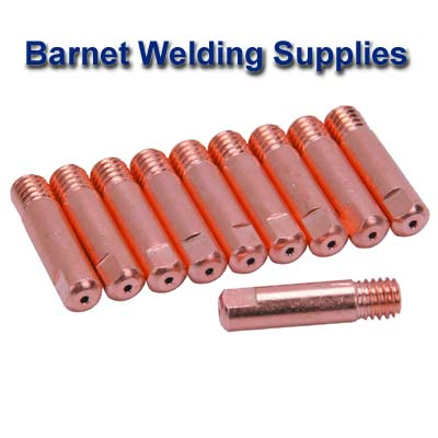 Pack of 10 - 150 CONTACT TIP 0.8mm M6