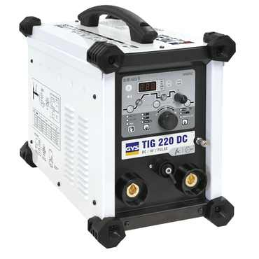 GYS TIG 220 DC 110V/240V - HIRE £119.95 INC VAT PER WEEK